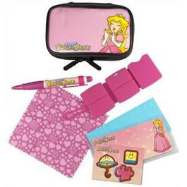 PACK FUNDA + ACCESORIOS PRINCESS PEACH NDS LITE - 3DS