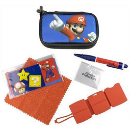 PACK FUNDA + ACCESORIOS MARIO NDS LITE - 3DS