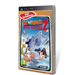 WORMS OPEN WARFARE 2 ESSENTIALS PSP