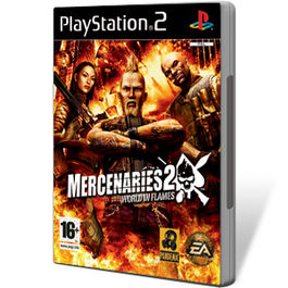 MERCENARIES 2 WORLD IN FLAMES VALUE GAME PS2