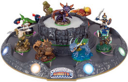 SKYLANDERS GIANTS BATTLE ARENA LIGH-UP