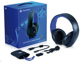 AURICULARES HEADSET WIRELESS 7.1 SURROUND 2.0 OFICIAL SONY NEGROS PS3 - PS4 - PS VITA