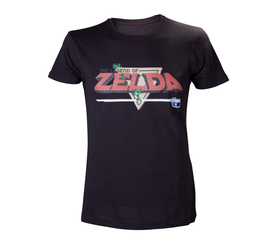CAMISETA THE LEGEND OF ZELDA SWORD LOGO 8 BITS