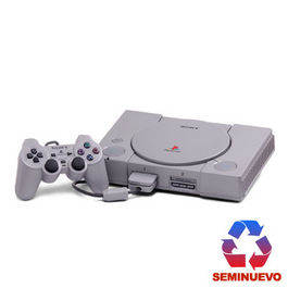 CONSOLA PLAYSTATION 1 FAT ORIGINAL (SEMINUEVO