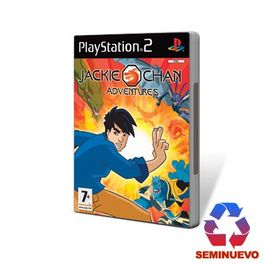 JACKIE CHAN ADVENTURES PS2 (SEMINUEVO)