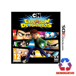 CARTOON NETWORK EXPLOSION DE PU�ETAZOS 3DS (SEMINUEVO)