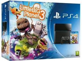 CONSOLA PS4 + LITTLE BIG PLANET 3 PS4
