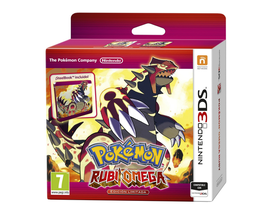 POKEMON RUBI OMEGA STEELBOX 3DS