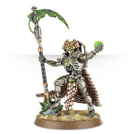 WH 40K NECRON OVERLORD (BLISTER NECRONES)