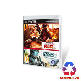 PACK RAINBOW SIX VEGAS 2 + GHOST RECON AW2 PS3 (SEMINUEVO)