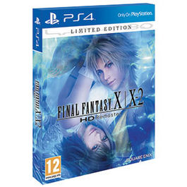 FINAL FANTASY X/X2 HD REMASTER LIMITED EDITION PS4