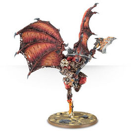 WH KHORNE BLOODTHIRSTER (CAJA CAOS)