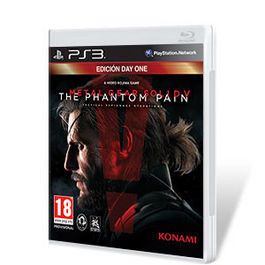 METAL GEAR SOLID V THE PHANTOM PAIN DAY ONE PS3