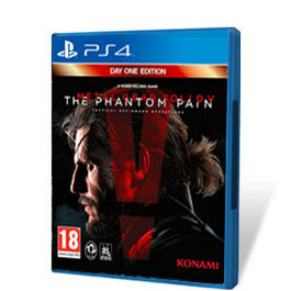 METAL GEAR SOLID V THE PHANTOM PAIN DAY ONE PS4