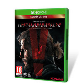 METAL GEAR SOLID V THE PHANTOM PAIN DAY ONE XBOX ONE