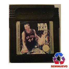 NBA JAM 99 GAME BOY (SEMINUEVO)