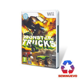 MONSTER TRUCK Wii (SEMINUEVO)