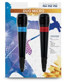 DUO MICRO BIGBEN PS2-PS3-PS4