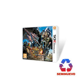 MONSTER HUNTER 4 ULTIMATE 3DS (SEMINUEVO)