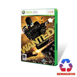 WANTED WEAPONS OF FATE XBOX 360 (SEMINUEVO)