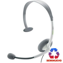 HEADSET XBOX 360 MS BLANCO (SEMINUEVO)