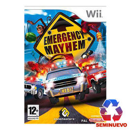 EMERGENCY MAYHEM Wii (SEMINUEVO)