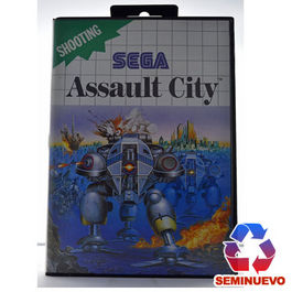 ASSAULT CITY MASTER SYSTEM (SEMINUEVO)