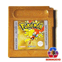 POKEMON ORO GAME BOY (SEMINUEVO)
