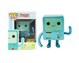 FIGURA POP HORA DE AVENTURAS BMO METALLIC LIMITED EDITION 10 CM