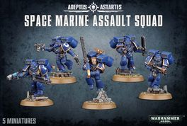 WH 40K SPACE MARINE ASSAULT SQUAD (CAJA MARINES ESPACIALES 2015)