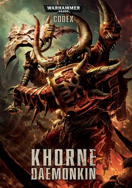 WH 40K CODEX KHORNE DAEMONKIN (INGLES)