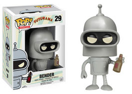 FIGURA POP FUTURAMA BENDER 10 CM