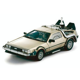 REGRESO AL FUTURO II DIECAST MODEL DELOREAN LK COUPE '83 1/18