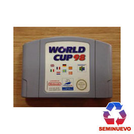 WORLD CUP 98 N64 (SEMINUEVO)