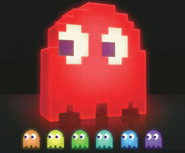 LAMPARA PAC-MAN LED FANTASMA 20 CM