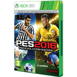 PRO EVOLUTION SOCCER 2016 DAY ONE EDITION XBOX 360