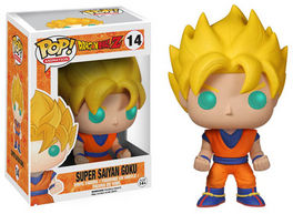 FIGURA POP DRAGON BALL Z GOKU SUPER SAIYAN 10 CM