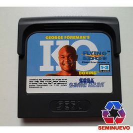 GEORGE FOREMAN KO GAME GEAR (SEMINUEVO)