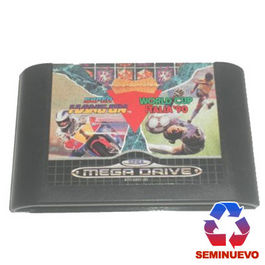 PACK MEGA GAMES I  COLUMNS - SUPER HANG-ON - WORLD CUP ITALIA 90 MEGA DRIVE (SEMINUEVO)
