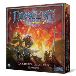 JUEGO DE MESA DESCENT LA GUARIDA DE SIERPE EXPANSION