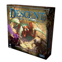 JUEGO DE MESA DESCENT LABERINTO DE PERDICION EXPANSION