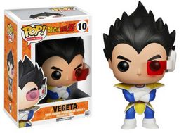 FIGURA POP DRAGON BALL Z VEGETA 10 CM