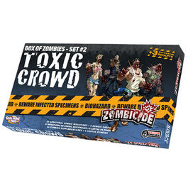 JUEGO DE MESA ZOMBICIDE TOXIC CROWD (BOX OF ZOMBIES - SET 2)
