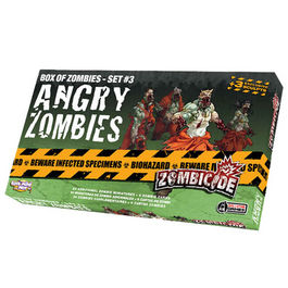JUEGO DE MESA ZOMBICIDE ANGRY ZOMBIES (BOX OF ZOMBIES - SET 3)