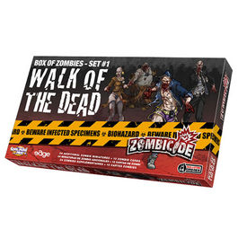 JUEGO DE MESA ZOMBICIDE WALK OF THE DEAD (BOX OF ZOMBIES - SET 1)