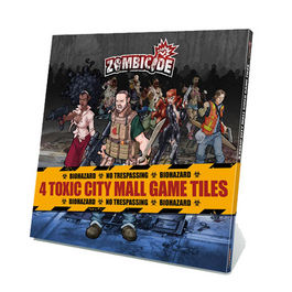 JUEGO DE MESA ZOMBICIDE 4 TOXIC CITY MALL GAME TILES