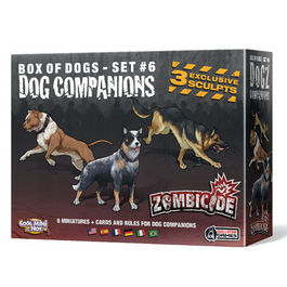 JUEGO DE MESA ZOMBICIDE DOG COMPANIONS (BOX OF DOGS - VOL 6)