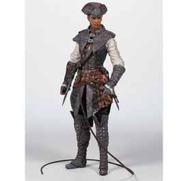 FIGURA ASSASSINS CREED III SERIE 2 AVELINE 15 CM