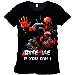 CAMISETA DEAD POOL BITE ME