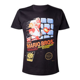 CAMISETA SUPER MARIO BROS. ENTERTAINMENT SYSTEM